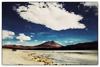 Photograph - Bolivia Tour Desert Vintage by For Ninety One Days