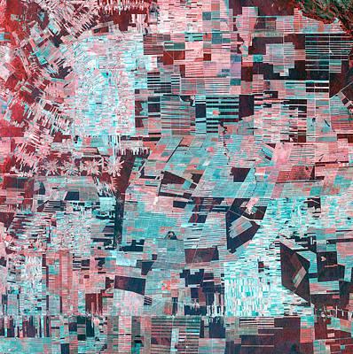 Photograph - Bolivian Deforestation by USGS Landsat