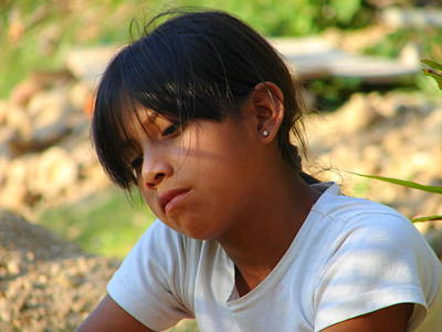 Photograph - Bolivian Girl by Lew Davis