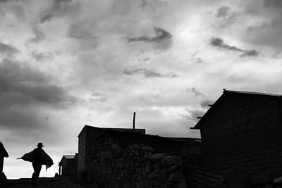 Photograph - Bolivian Man by Roberto Falck