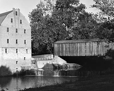 Photograph - Bollinger Mill by Harold Rau