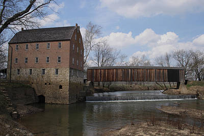 Photograph - Bollinger Mill by Scott Sanders