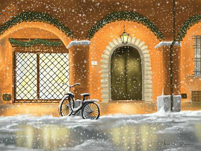 Bologna Painting - Bologna by Veronica Minozzi