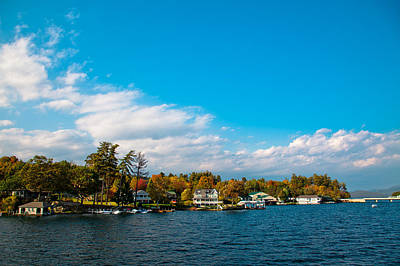 Photograph - Bolton Landing - Location Of The Sagamore Hotel On Lake George by David Patterson