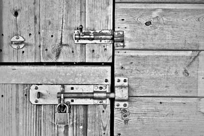 Cross-bar Photograph - Bolts by Tom Gowanlock