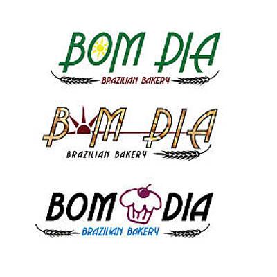 Digital Art - Bom Dia Logo by Teri Schuster