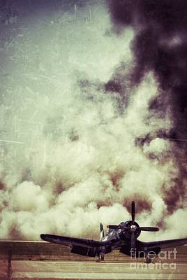 Photograph - Bomb Run by AK Photography