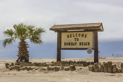 Digital Art - Bombay Beach by Photographic Art by Russel Ray Photos