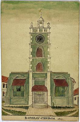 Bombay Photograph - Bombay Church by British Library