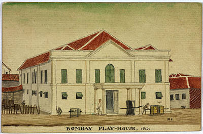 Bombay Photograph - Bombay Playhouse by British Library