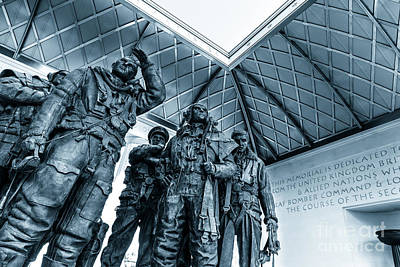 Photograph - Bomber Command Memorial In Green Park London. by Peter Noyce