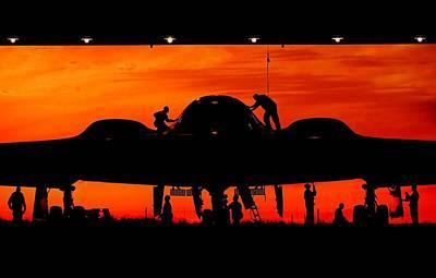Bomber Prep Art Print by Benjamin Yeager