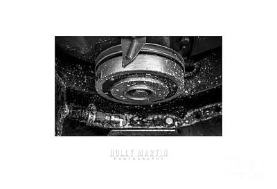Speed Week Photograph - Bombshell Betty Straight - Metal And Speed by Holly Martin