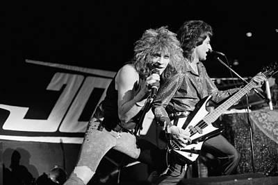 Bon Jovi '85 Art Print