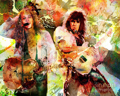Western Art - Bon Jovi by David Plastik