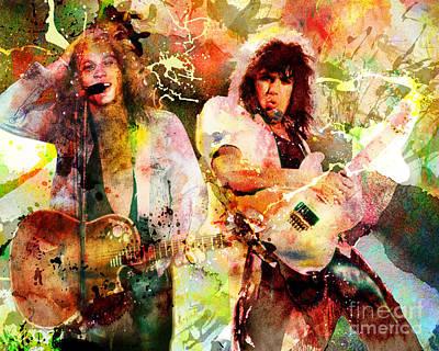 Bon Jovi Original  Art Print