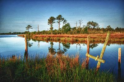 Digital Art - Bon Secour Bayou  by Michael Thomas