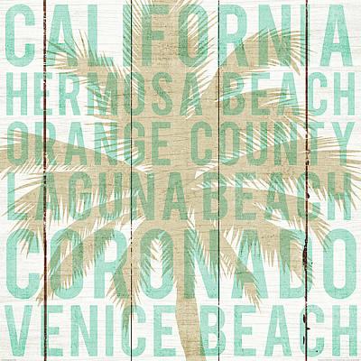 Laguna Beach Painting - Bon Voyage California Palm by Michael Mullan