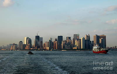 Hudson River Tugboat Photograph - Bon Voyage by Christiane Schulze Art And Photography
