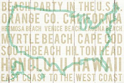 Laguna Beach Painting - Bon Voyage Usa by Michael Mullan