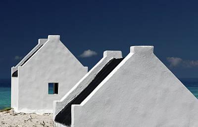 Netherlands Wall Art - Photograph - Bonaire Slaves Huts by Hans-wolfgang Hawerkamp