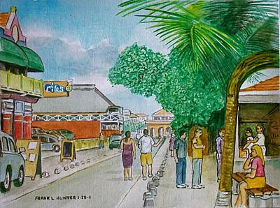 Bonaire Street Art Print by Frank Hunter