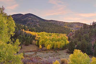 Rockies Photograph - Bonanza Autumn View by James BO  Insogna