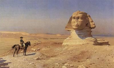 Bonaparte Before The Sphinx Art Print by Jean-Leon Gerome