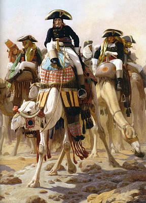 Bonaparte In Egypt Art Print by Jean-Leon Gerome