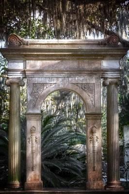 Photograph - Bonaventure Cemetery by Mark Andrew Thomas