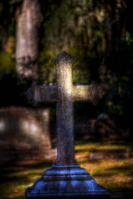 Photograph - Bonaventure Cross by Mark Andrew Thomas