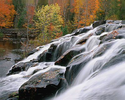 Bond Falls Upper Peninsula Michigan Art Print