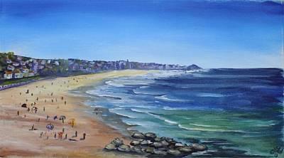 Bondi Painting - Bondi Beach by Christopher Vidal