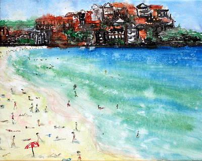 Painting - Bondi Beach by Lyndsey Hatchwell