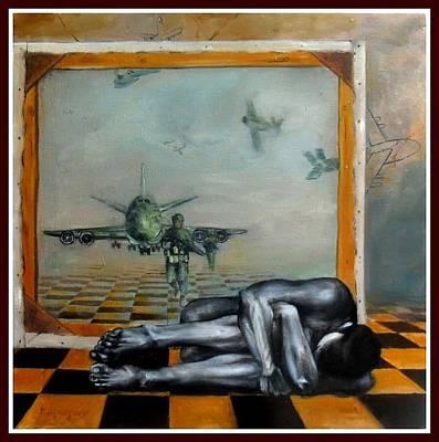 Bondi Painting - Bondi Shibir Theke by Mong Sho