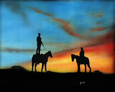 Bonding Painting - Bonding 2 by Luis  Navarro