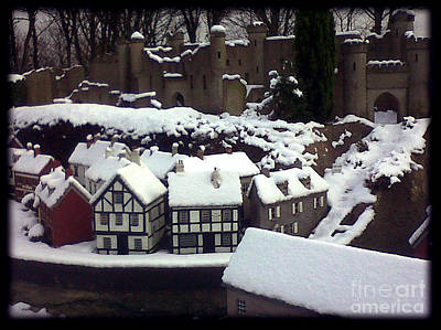 Bondville Model Village Art Print by Merice Ewart