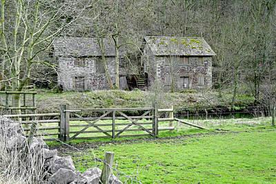 Bone Crushing Mill - Near Ashford-in-the-water Print by Rod Johnson