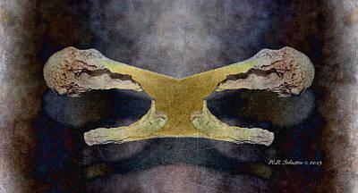 Bone Dance Art Print by WB Johnston
