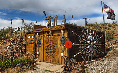 Photograph - Bone Shack - 02 by Gregory Dyer