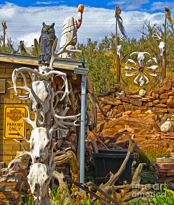 Painting - Bone Shack - 03 by Gregory Dyer