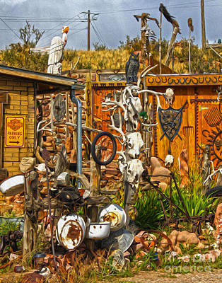 Painting - Bone Shack - 05 by Gregory Dyer