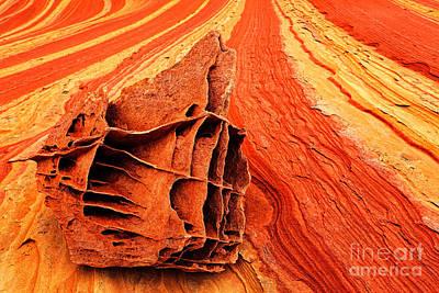 Bone Yard Rocks Art Print by Inge Johnsson