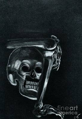 Bones Art Print by Ayasha Loya