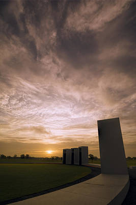 Bonfire Memorial Art Print