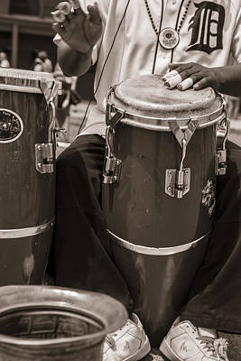 Photograph - Bongos With Tiger Jersey by John McGraw