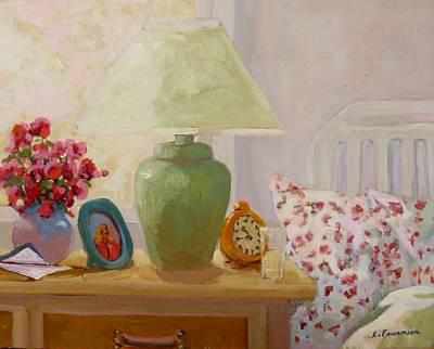 Painting - Bonjour Le Jour  by Liliane Fournier