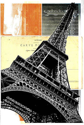 Bonjour Paris  Art Print by Steven  Taylor