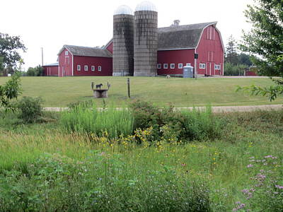Illinois Farm Land Photograph - Bonner Farm by Jennifer Fliegel