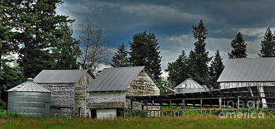 Photograph - Bonners Ferry Farm by Sam Rosen